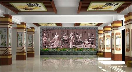 教你从五个高中入手校园文化墙v高中方面全额奖学金新加坡图片