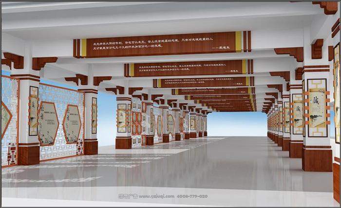 华侨中学走廊文化设计