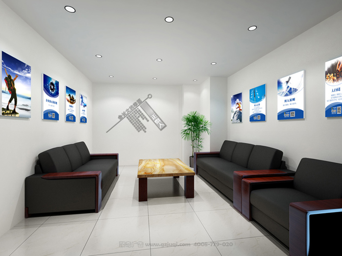 办公室文化墙设计的四大作用:   一、办公室文化墙设计的激