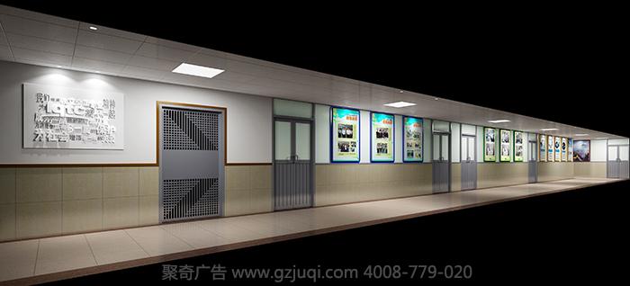 企业形象墙设计制作要点