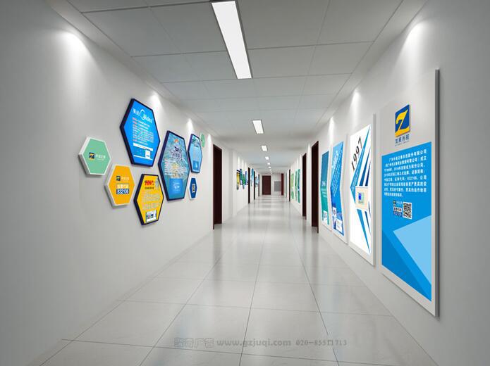 企业办公室文化墙创意设计,您需要有一套这样的
