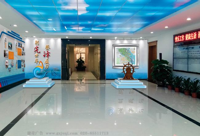单位走廊文化墙设计