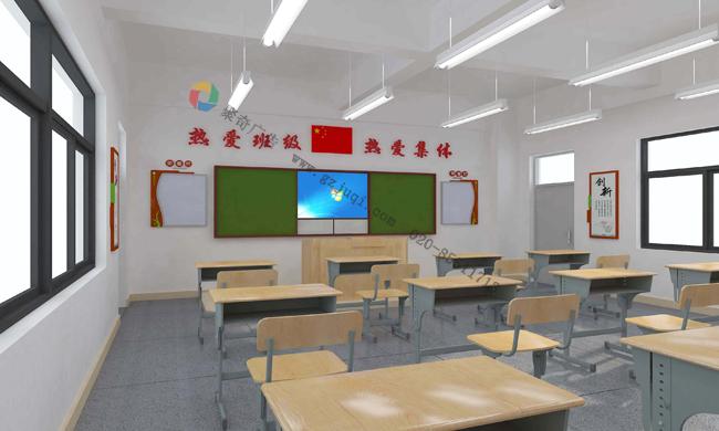 案例介绍:学校教室环境文化墙设计
