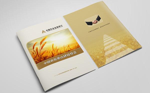 中国农业发展银行宣传册设计