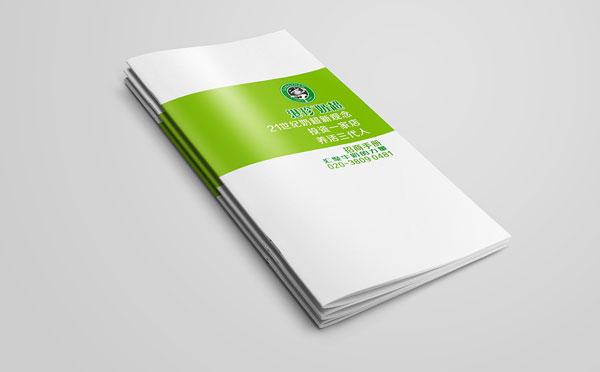 宋之奶招商画册设计