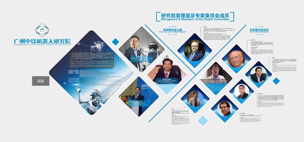 广州中以智慧公司文化墙设计