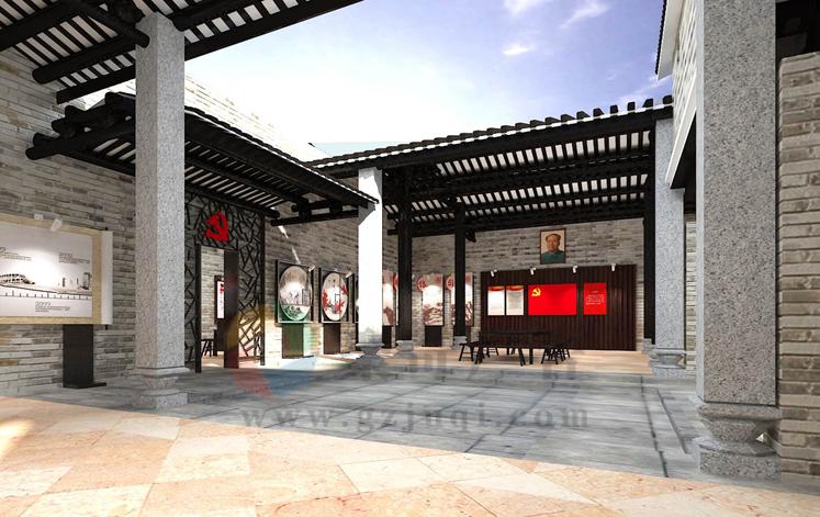 吉山村党群活动之家文化建设