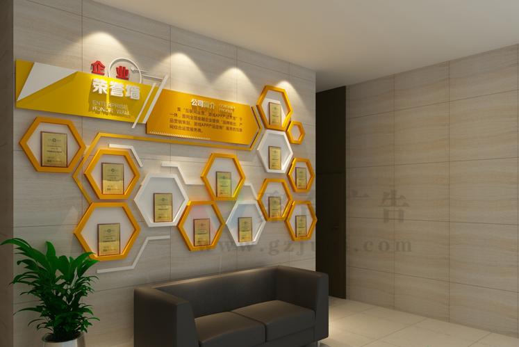 金蜂科技企业环境文化设计